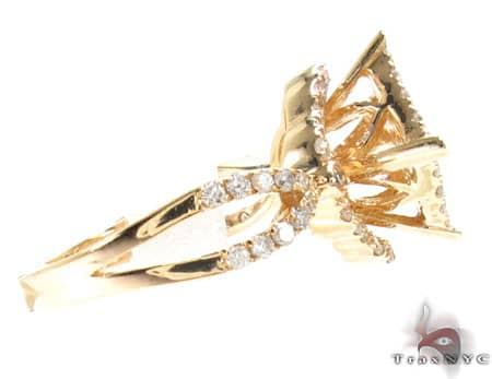Yellow Gold Barbados Ring 3 Anniversary/Fashion