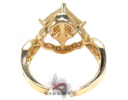 Yellow Gold Barbados Ring 3 Anniversary/Fashion