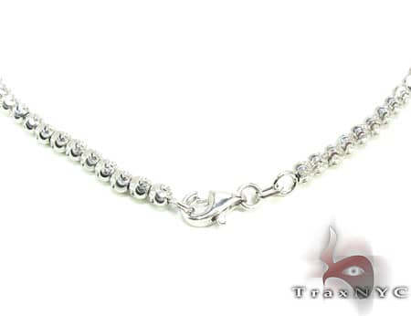 Moon Cut Chain 22 Inches, 3mm, 13.4 Grams Gold