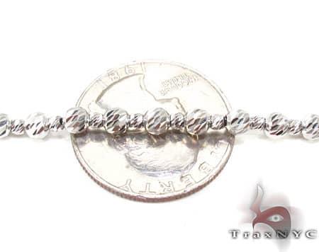 Moon Cut Chain 20 Inches, 3.5mm, 13.9 Grams Gold