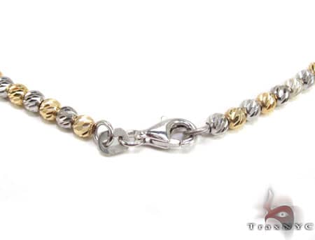 14K Two Tone Gold Chain 30 Inches 2mm 1920 Grams Gold