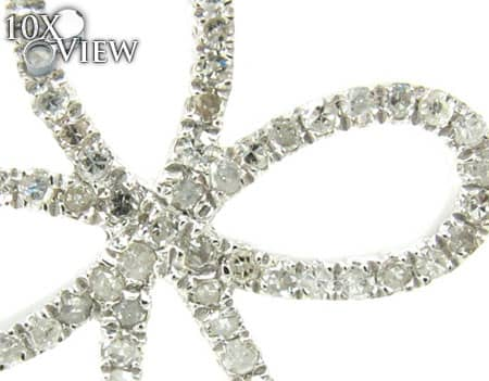 Sterling Silver & Diamond Delicate Cross Style