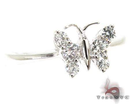 Butterfly Ring Womens Diamond Rings