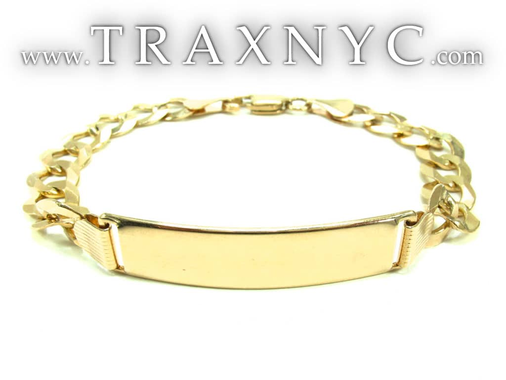 Gold Mens Bracelet Yellow Gold 10kGold Bracelets For Men