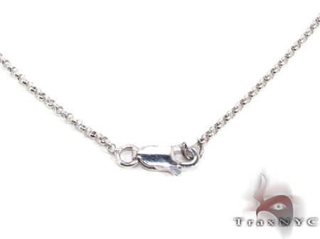 Erica's Two Tone Necklace Stone