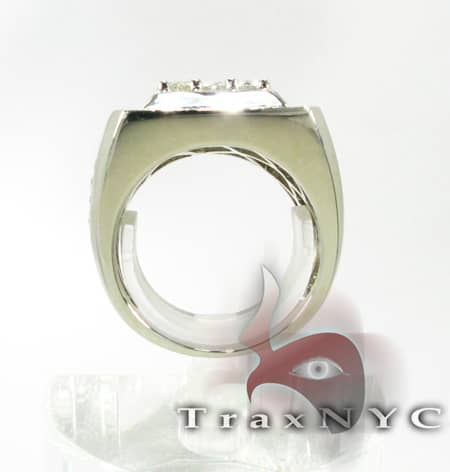 Freeze 14k White Gold Premiere Ring Stone