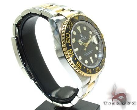 Rolex GMT-Master II Steel and Yellow Gold 116713LN Diamond Rolex Watch Collection