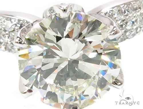 18k White Gold Pave Diamond Wedding Ring-39997 Engagement