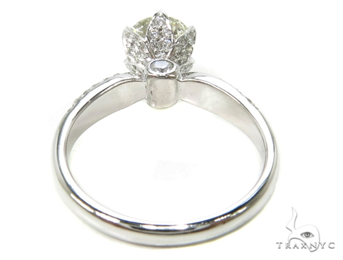 18k White Gold Pave Diamond Wedding Ring-39997 Engagement