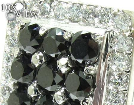 Black and White Diamond Premiere Ring Stone