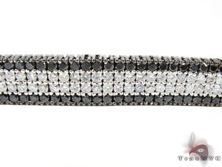 Black and White Diamond Paulie Bracelet 2