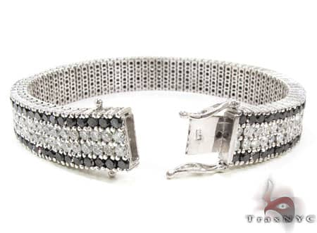 Black and White Diamonds Paulie Bracelet 1
