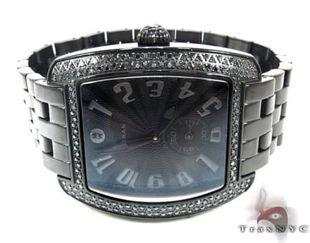 Michele Urban Noir Diamond Watch  MWW02M000047 Michele Diamond Watches