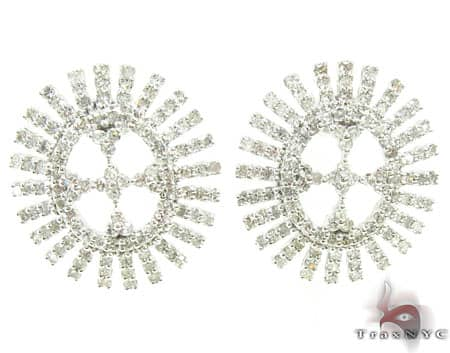 Ladies Diamond Earrings 19088 Stone