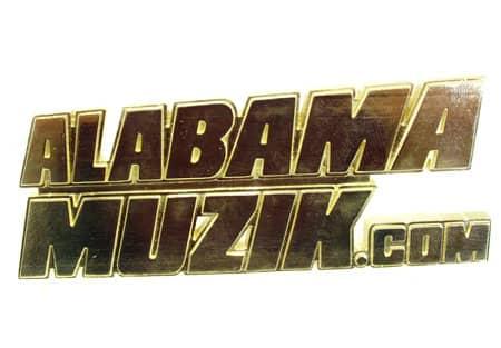 Alabama Music Pandant Metal