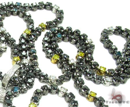 Black Diamond chain is one of the most popular accessories in mens jewelry industry