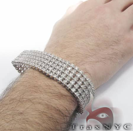 5 Row Toni Bracelet Diamond