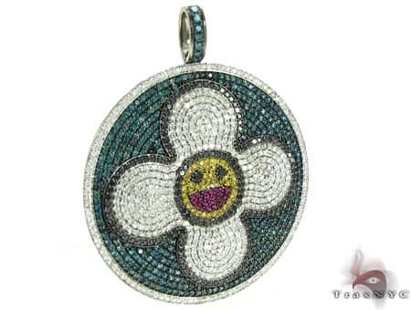 Custom Jewelry - LV Pendant Metal