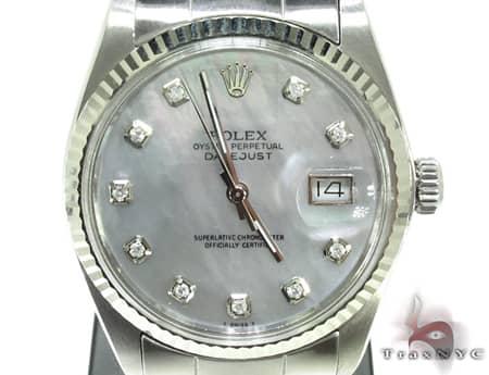 Rolex Datejust White Gold Watch 178274 Diamond Rolex Watch Collection