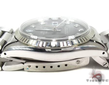 Rolex Datejust Steel & White Gold Watch 178274 Diamond Rolex Watch Collection