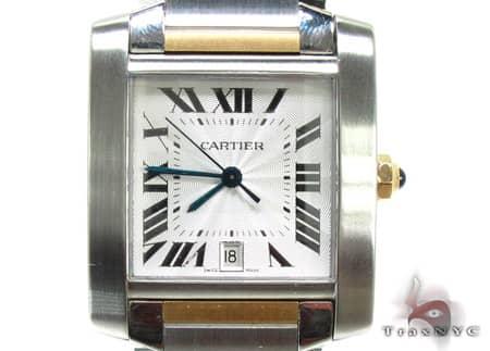 Mens Cartier Tank Francaise Two Tone W51012Q4 Cartier