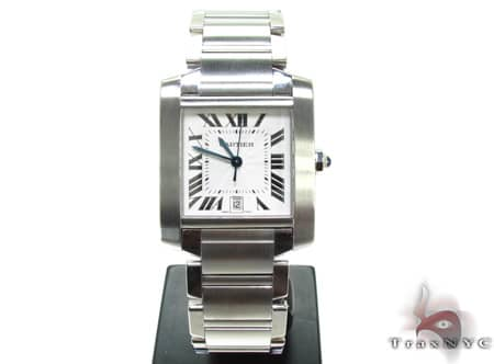 Mens Cartier Tank Francaise Watch W51002Q3 Cartier