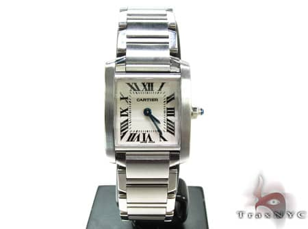 Pre-Owned Ladies Cartier Tank Francaise Watch W51008Q3 Cartier