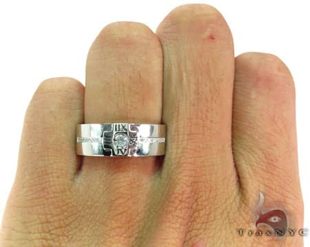 Mens Diamond Ring 19238 Style