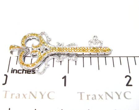 Ladies Diamond Key Pendant 19258 Style