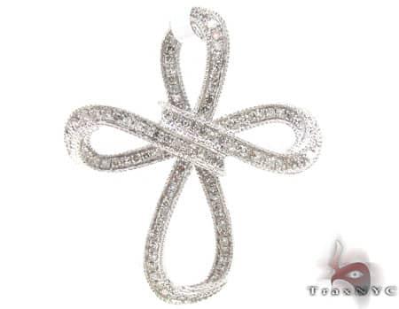 Ladies Diamond Cross 19263 Style