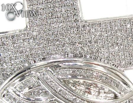 Men's Diamond Pendant 19266 Metal