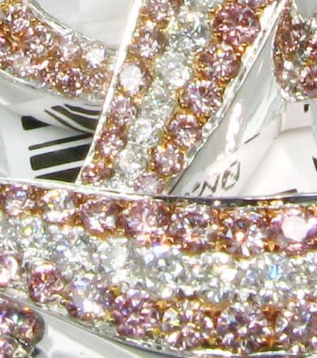 Pink L Pendant Metal