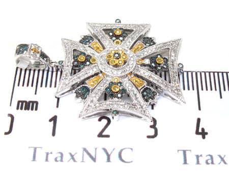 Diamond Pendant 19271 Metal