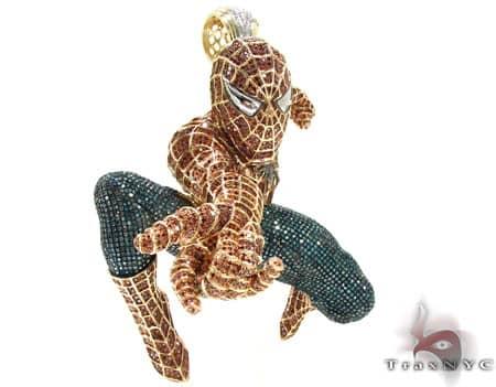 Custom Jewelry - Spiderman Pendant Metal