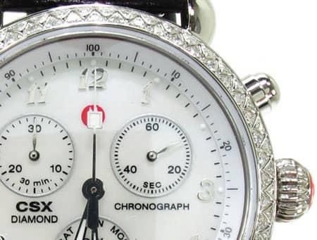 Ladies Michele CSX-36 Day Watch MWW03M000002 Michele Diamond Watches