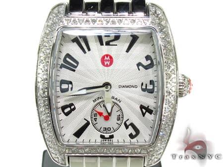 Michele Urban Mini Diamond Steel MWW02A000124 Michele Diamond Watches