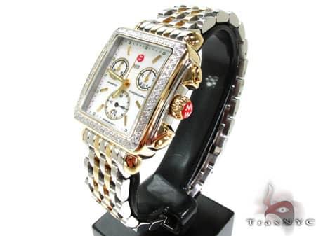 Michele Deco Diamond Two-Tone MWW06A000352 Michele Diamond Watches