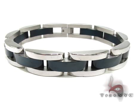 for product mens steel stainless men inches bracelet figaro