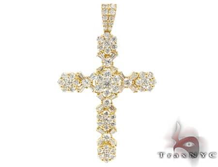 Diamond Cross Pendant 19526 Style
