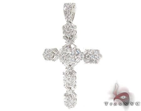 Diamond Cross Pendant 19527 Diamond