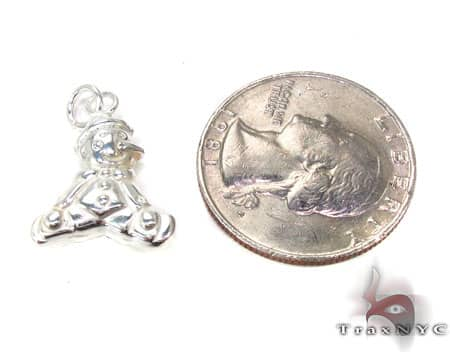 Childs Silver Pendant 19587 Metal