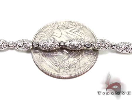Moon Cut Chain 24 Inches 4mm 18.3 Grams Gold