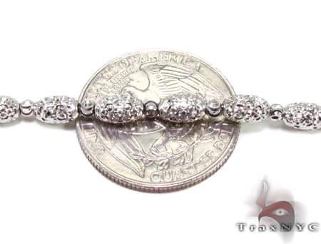 Moon Cut Chain 22 Inches 4mm 15.9 Grams Gold