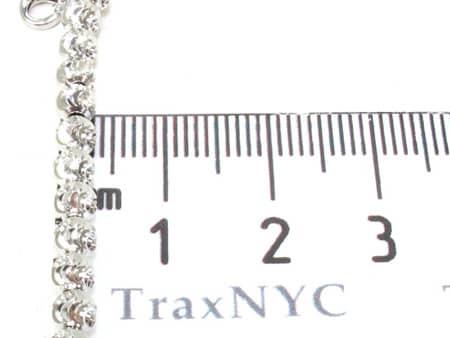 Moon Cut Chain 20 Inches 3mm 16.3 Grams Gold