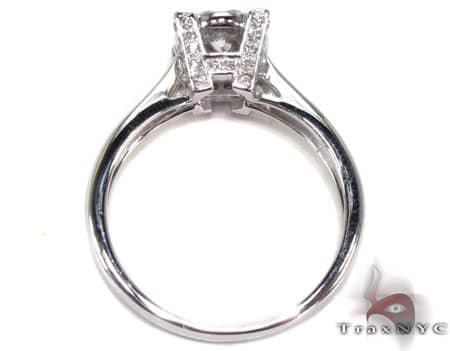 14K White Gold Diamond Ring 19823 Engagement