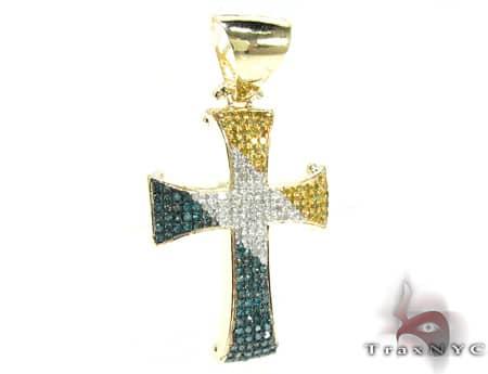 Tri Color Linnus Cross 2 Diamond