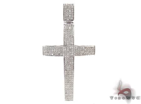 Dynasty Cross 19884 Mens Diamond Cross