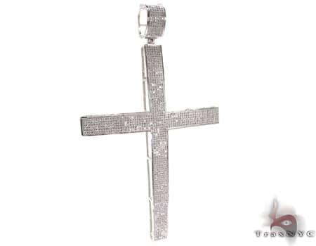 Mens Diamond Cross 19908 Diamond
