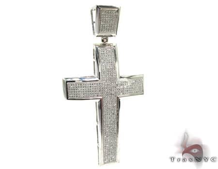 Mens Diamond Cross 19911 Diamond