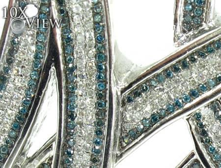 Diamond Initial M Pendant Style